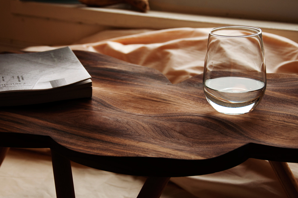 """Brief  Design a table within 20""""x30""""x30"""" that has a CNC-routed component. / Duration  6 weeks"""