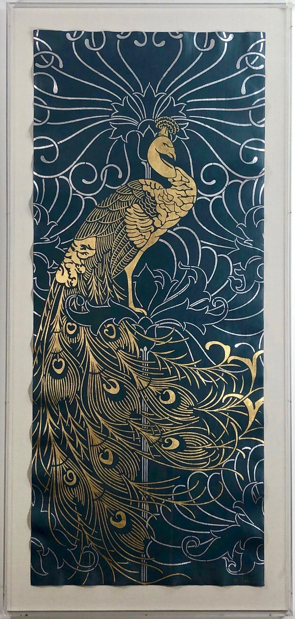 28 x 60 Peacock