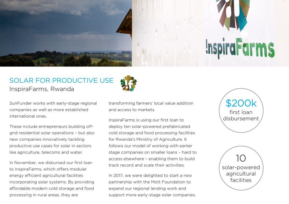 InspiraFarms, Rwanda
