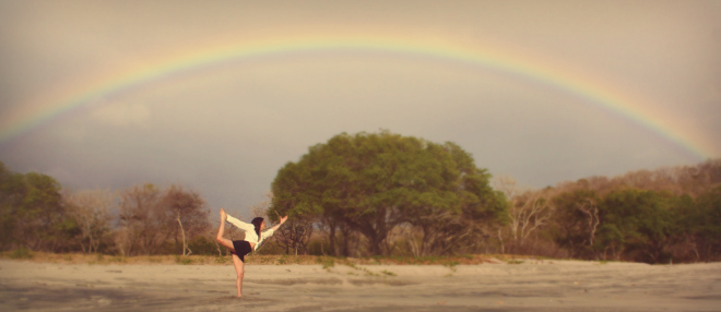 rainbow popoyo beach