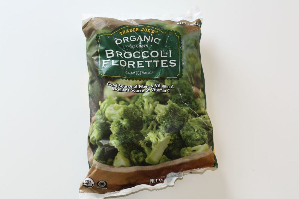 organic frozen broccoli