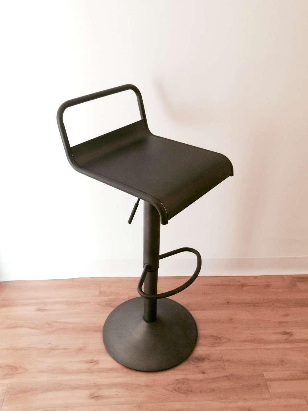 metal adjustable stool