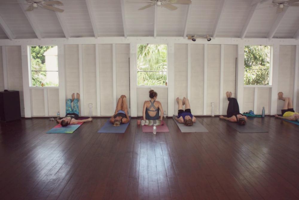 yoga and barre retreat