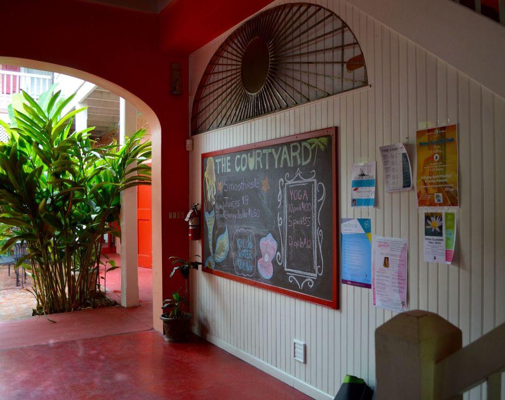 Courtyard Menu - St. Croix