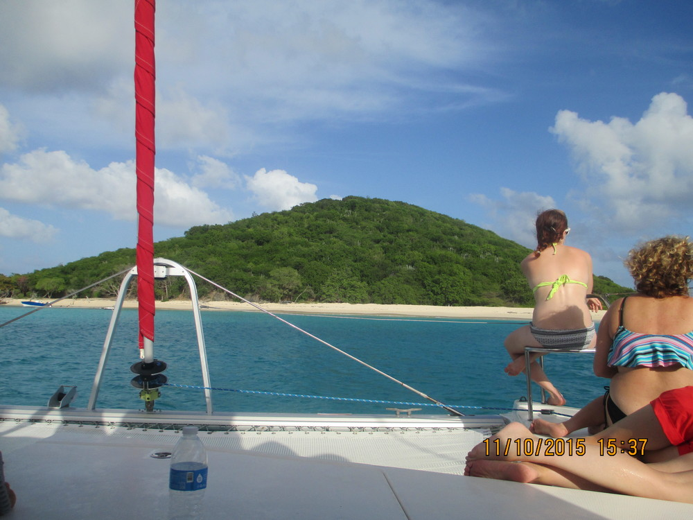 sailing in St. Croix