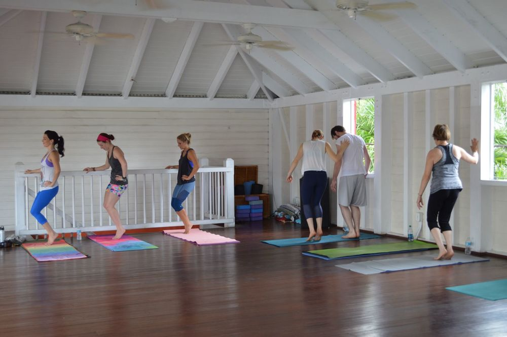yoga and barre retreat