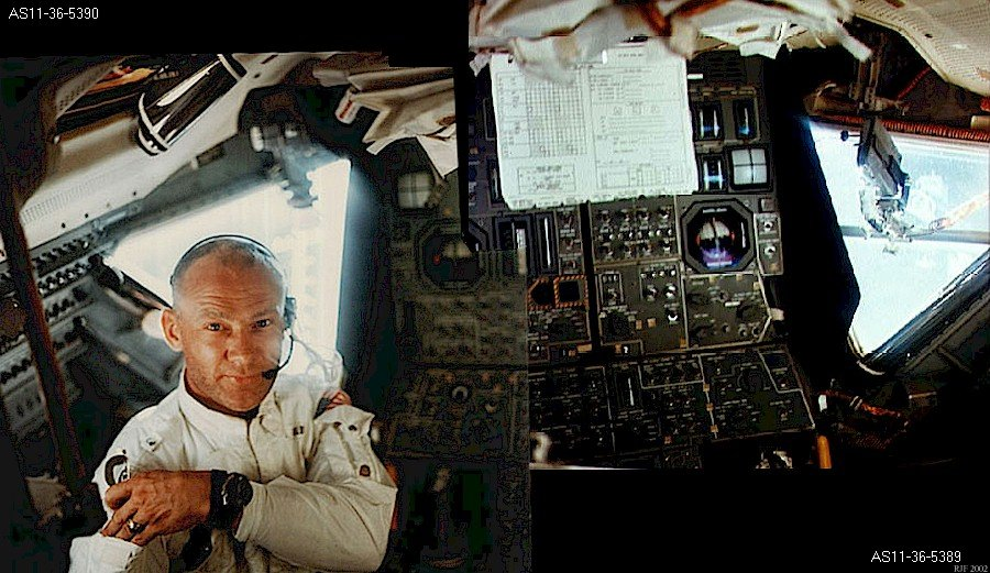 Buzz Aldrin, Apollo 11