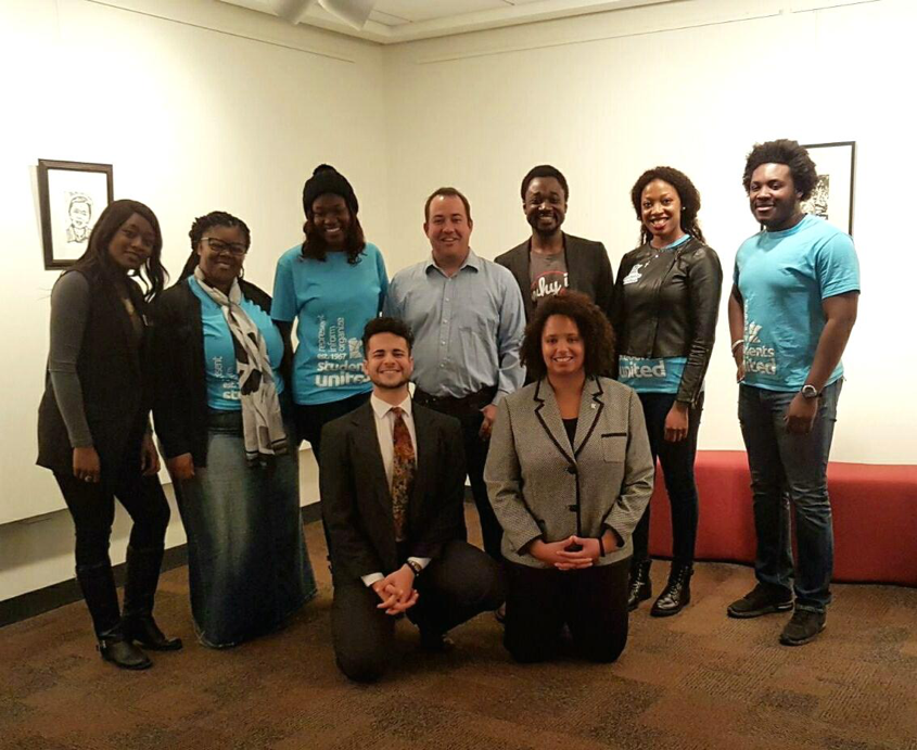 Committee & Action Team members with Representative Chris Swedzinski,  State Chair Faical Rayani & Vice Chair Lexi Byer.
