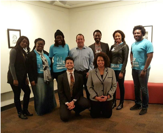 Students United Officers, SMSU Committee and Action Team members with Representative Chris Swedzinski