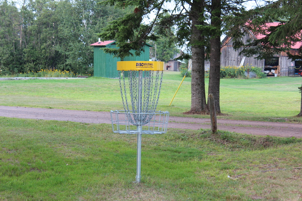 Disk golf course