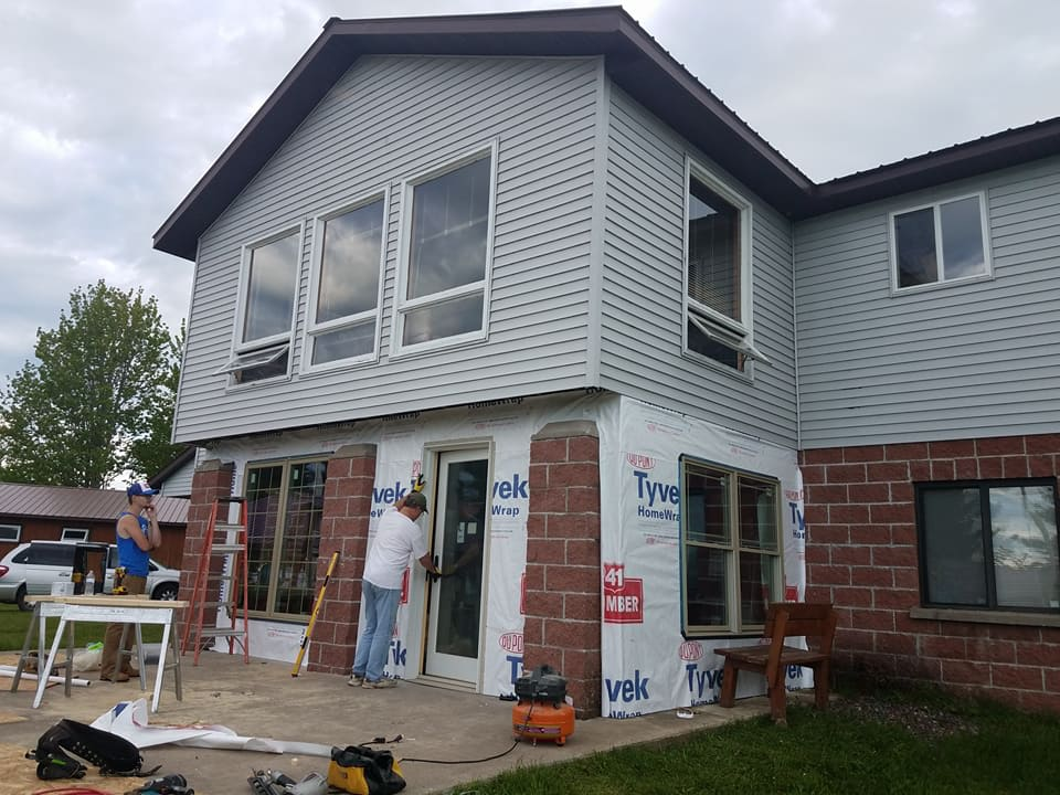 Staffhouse addition