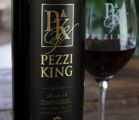 PEZZI KING VINEYARDS ZINFANDEL LABEL