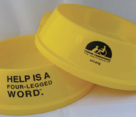 BRANDED BOWLS FOR CANINE COMPANIONS