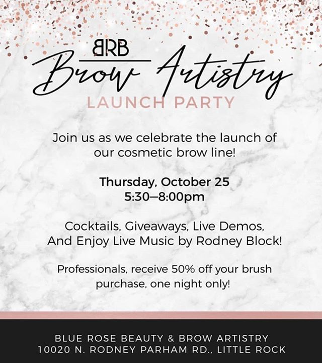 Only 1 more day until the launch of BRB Brow Artistry! @brbbrowartistry There is something for everyone in this line! Come in tomorrow after work & see us! Party is from 530p-8p Live music, photobooth,giveaways, cocktails & fun!  Rain or shine ♡  #bluerosebeauties #harmonymicroblade #microbladingbyGlamd #permanentmakeup #pmu #microblading #archaddicts #brows #browsonfleek #3dbrows #microbladingeyebrows #eyebrows #wakeupandmakeup #harmonymb #browsonpoint #browgame #microblading #microbladingeyebrows #microbladingbrows #permanentmakeup #microbladingartist #micropigmentation #hairstrokes #microbladingacademy #microbladingtraining #pmu #3dbrows #browsonfleek #eyebrowtattoo #semipermanentmakeup #powderbrow #eyebrowsonfleek