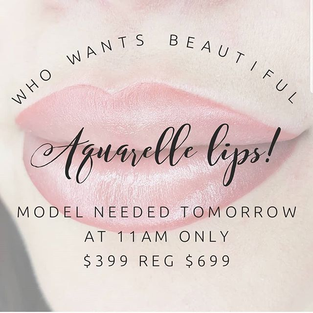 Model needed for tomorrow to go live on IG while doing lips. HALF OFF regular price!!! Serious inquiries only! Call 501-366-6160 #bluerosebeauties #harmonymicroblade #microbladingbyGlamd #permanentmakeup #pmu #microblading #archaddicts #brows #browsonfleek #3dbrows #microbladingeyebrows #eyebrows #wakeupandmakeup #harmonymb #browsonpoint #browgame #microblading #microbladingeyebrows #microbladingbrows #permanentmakeup #microbladingartist #micropigmentation #hairstrokes #microbladingacademy #microbladingtraining #pmu #3dbrows #browsonfleek #eyebrowtattoo #semipermanentmakeup #powderbrow #eyebrowsonfleek