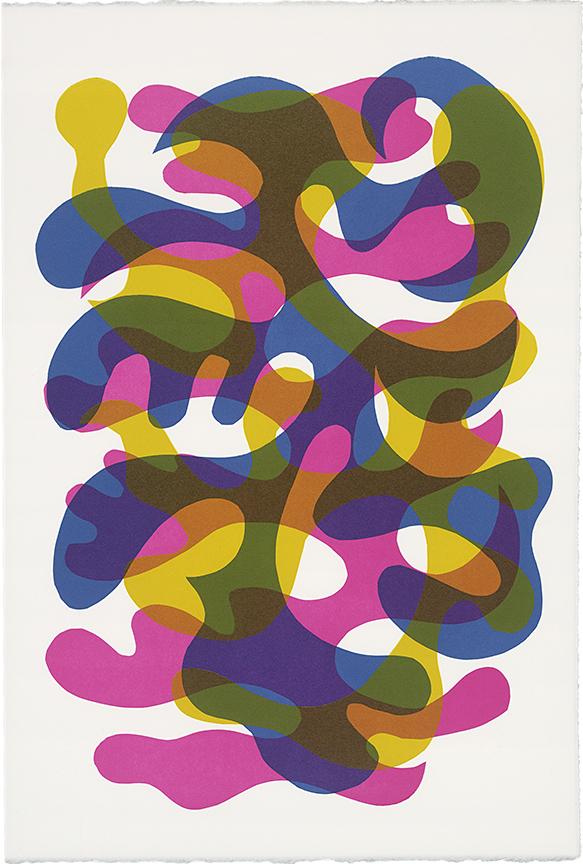15 x 22 in, monoprint, 2016