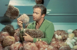 Captain Kirk and The Trouble with Tribbles