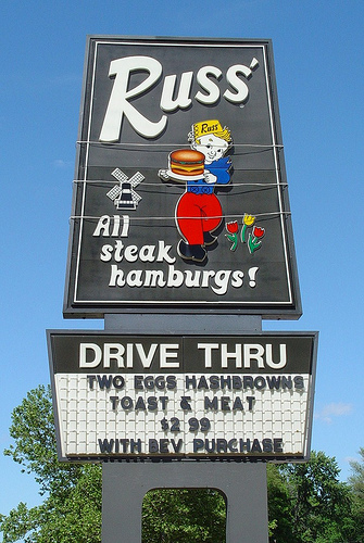 Russ's Where I Am the Hottest Chick Around (and the youngest by 4 decades)