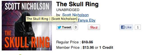 The Skull Ring Audio