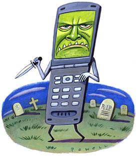 evil phone