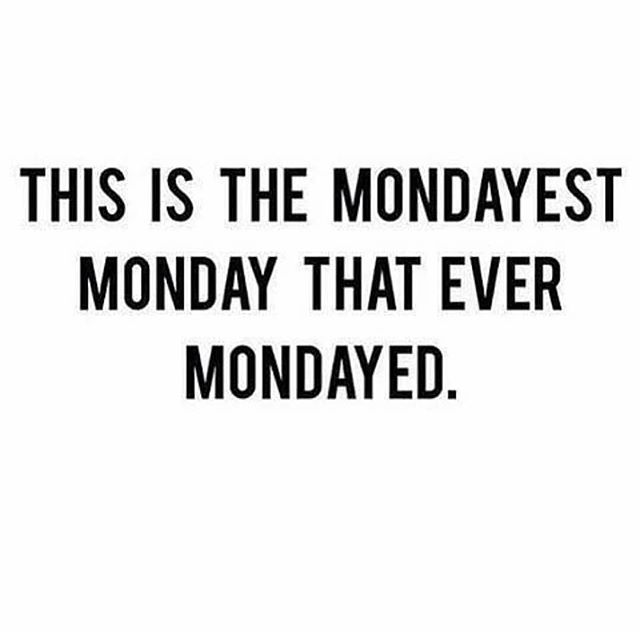 Can we rewind and do the weekend over? 😛 Not ready for Monday 😩  #newweek #mondaymotivation #mondaymood #bachatalife