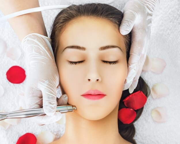 Microdermabrasion skin treatment in San Diego at Medarts.
