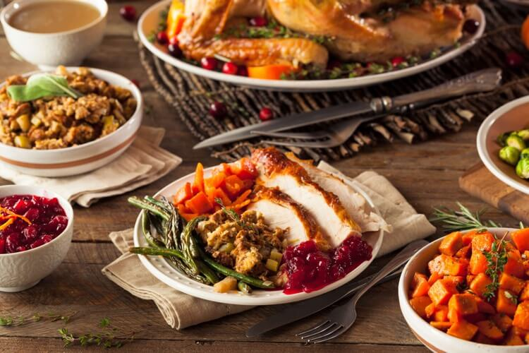 Stay Slim during Thanksgiving in San Diego.