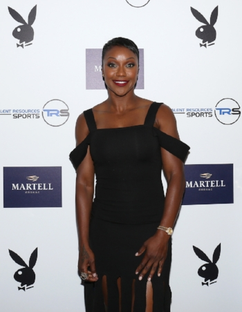 Carmelita Jeter at TR Sports Pre-ESPYs Party hosted by Martell Cognac