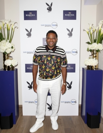 Anthony Anderson at TR Sports Pre-ESPYs Party hosted by Martell Cognacat Playboy Headquarters in Los Angeles, California