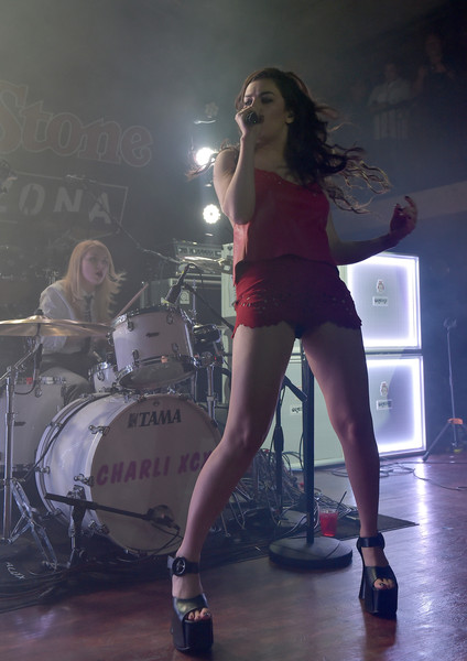 Singer Charli XCX performing at  Rolling Stone LIVE Arizona Presented by Talent Resources Sports