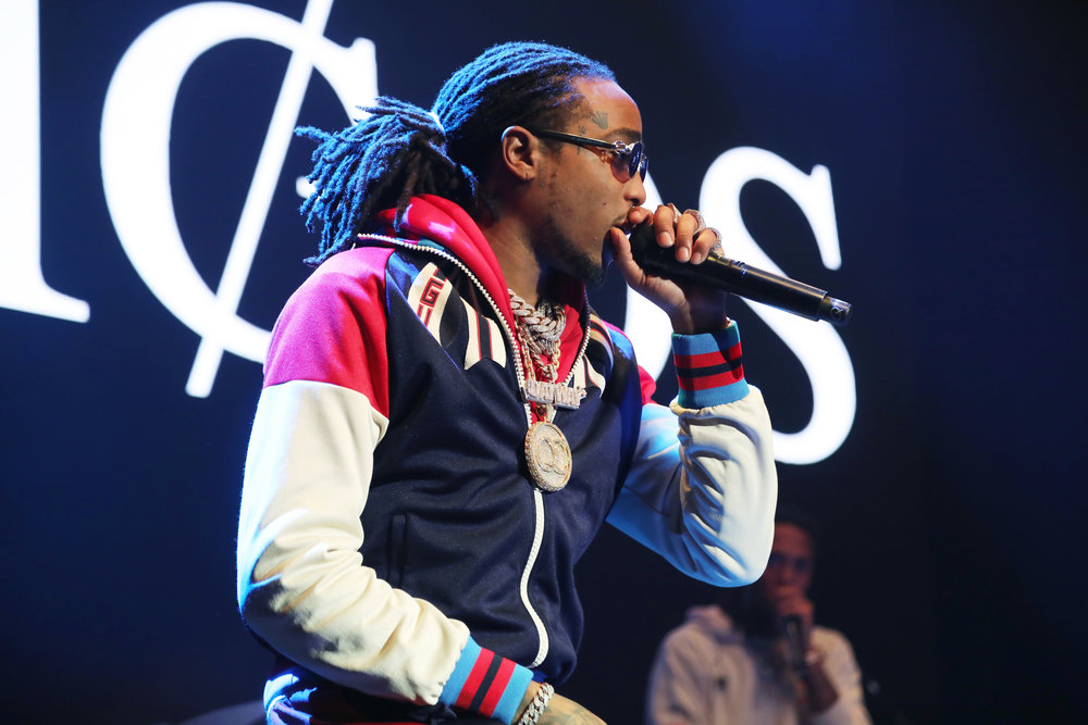 Quavo of Migos performs onstage at Rolling Stone Live: Minneapolis