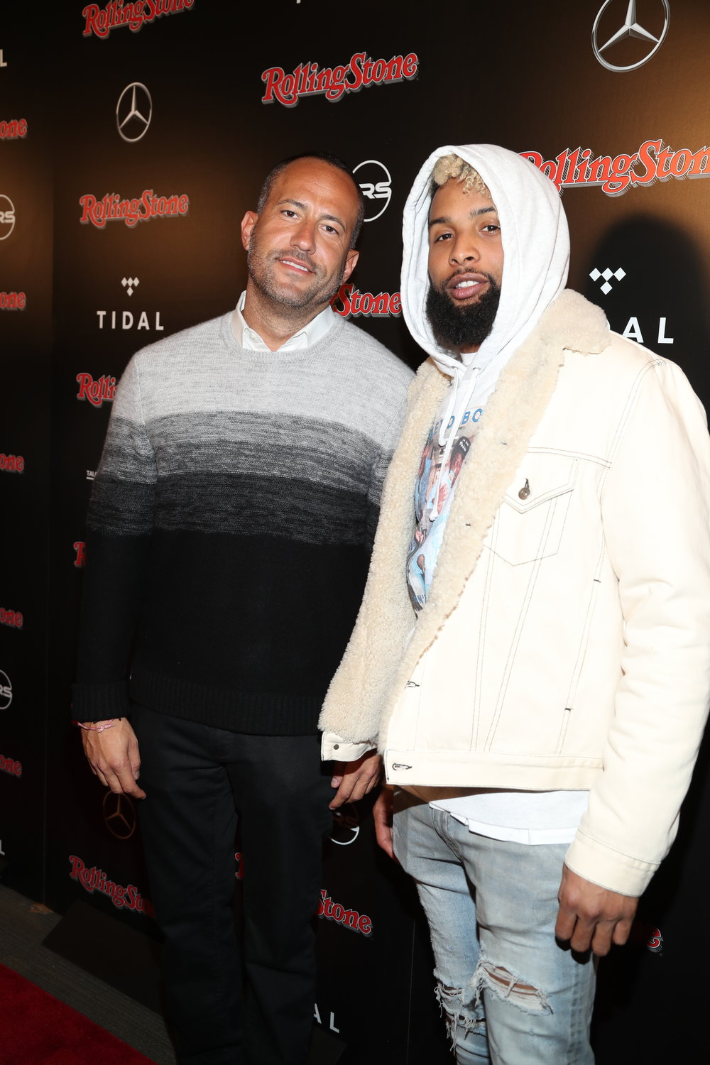 David Spencer & Odell Beckham Jr.