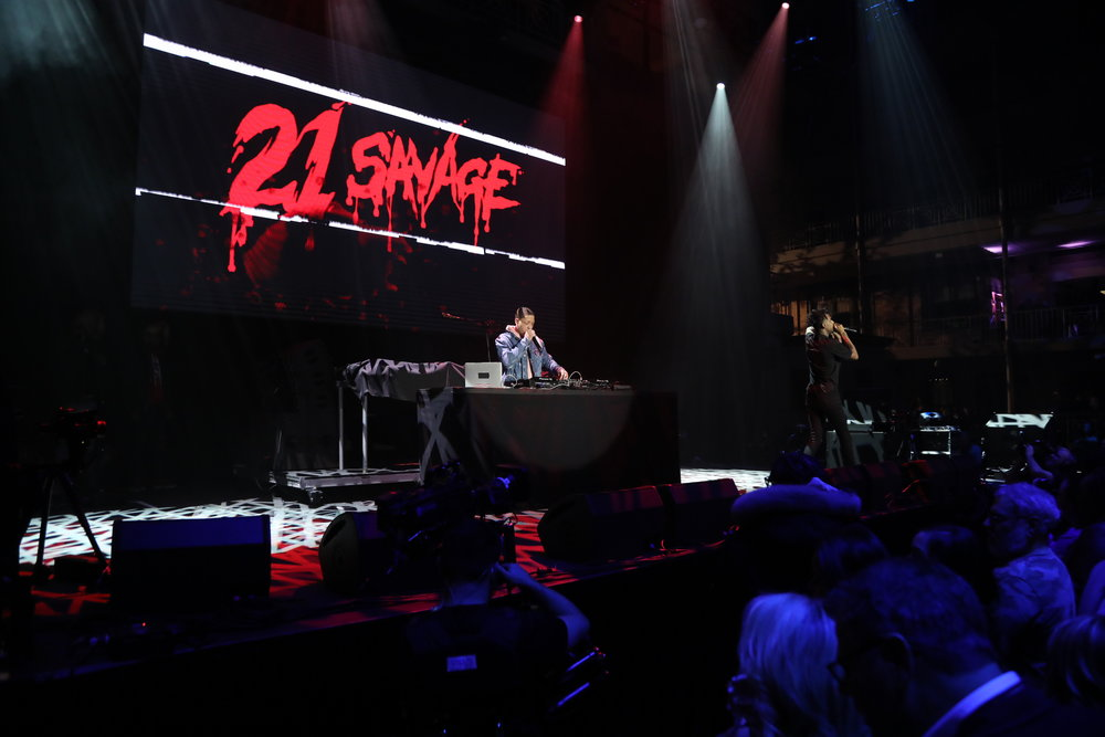 21 Savage performing at Rolling Stone LIVE: Minneapolis