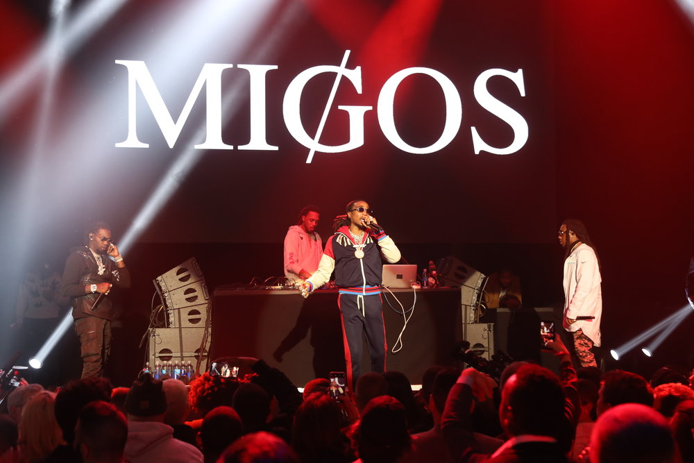 MIGOS performing at Rolling Stone LIVE: Minneapolis