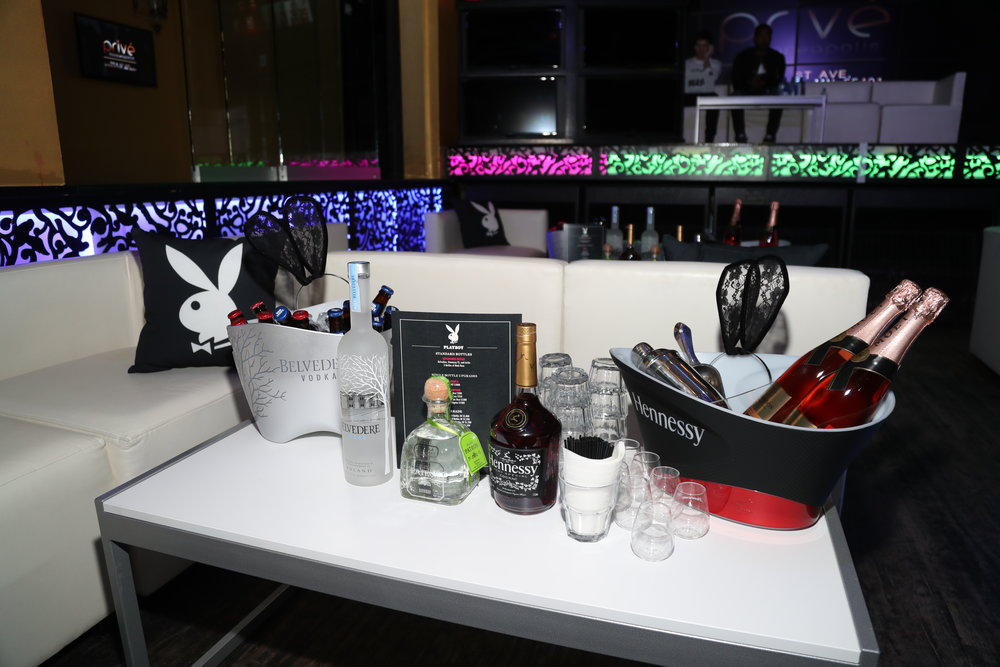 Sponsor Möet Hennessy at Playboy's Big Game Party