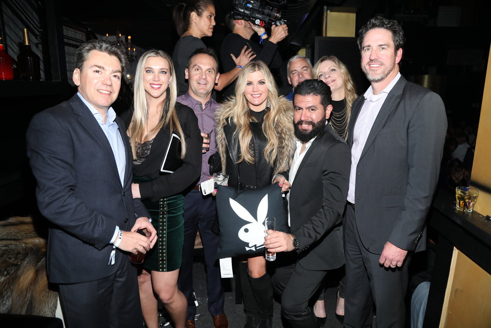 Guests attend Playboy's Big Game Party