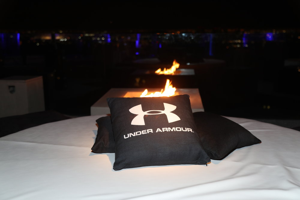 Sponsor, Under Armour activation at the event