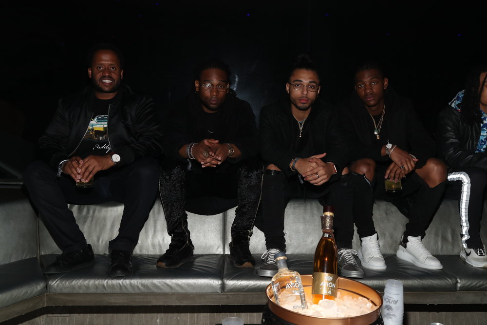 Kenny Hamilton & Guests at Club James After Party