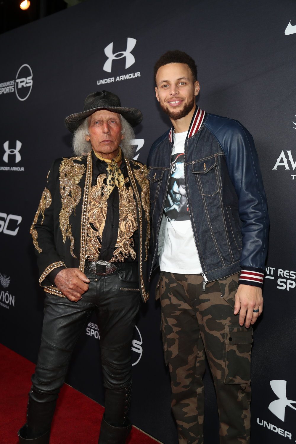 Jim Goldstein & Stephen Curry