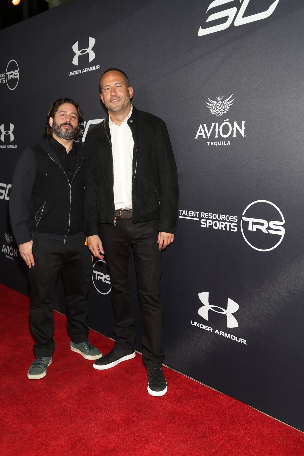 Co-Founders & CEOs of Talent Resources Sports, Michael Heller & David Spencer