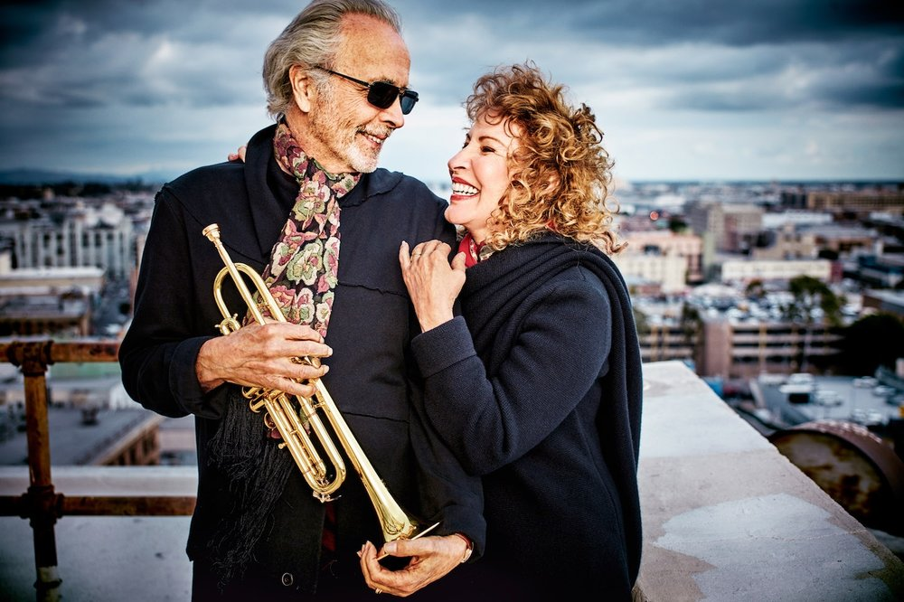 """Herb Alpert &Lani Hall - October 3, 2018 ●7:30pmHerb Alpert is a cocktail party of a canon, with the trumpet and horns of """"Tijuana Taxi"""", the peppy joy of """"Taste of Honey""""."""