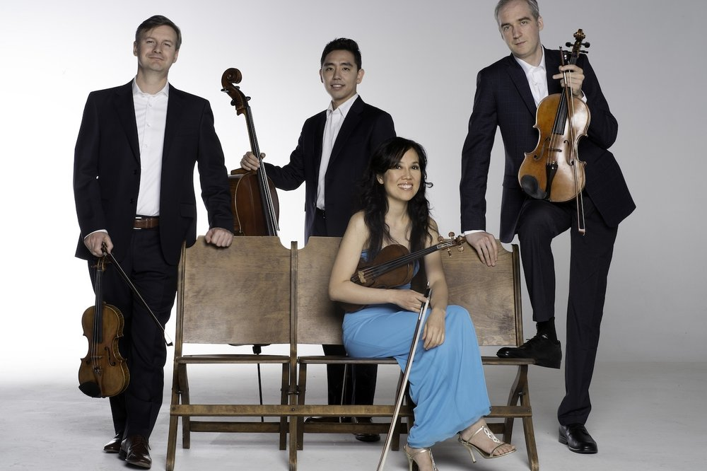 BOREALIS STRING QUARTET - With Special Guest Ian ParkerMarch 31, 2019 • 3 pmOne of the most dynamic and exciting world-class ensembles of its generation, the Borealis String Quartet has received international critical acclaim as an ensemble praised for its fiery performances, passionate style and refined musical interpretation.