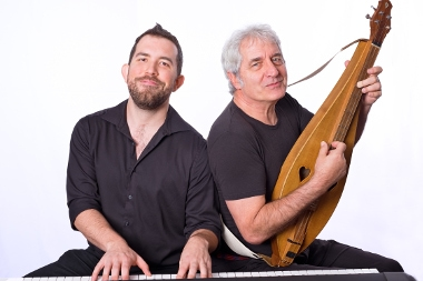 RICK SCOTT +NICO RHODES: ROOTS +GROOVES - February 7 & 8, 2019 ● 7:30pmHillbilly concertos, Appalachian grooves, ferocious folk fun and many manly moves. Rick and Nico blur all boundaries – in a word, they cook!