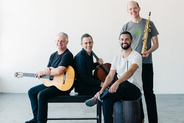 QUARTETO NUEVO - May 2 & 3, 2019 ● 7:30pmQuarteto Nuevo merges western classics, eastern European folk, latin and jazz with an organic feel that packs a wallop! They effectively meld the music of ancient worlds and faraway places with a contemporary groove that enchants audiences.