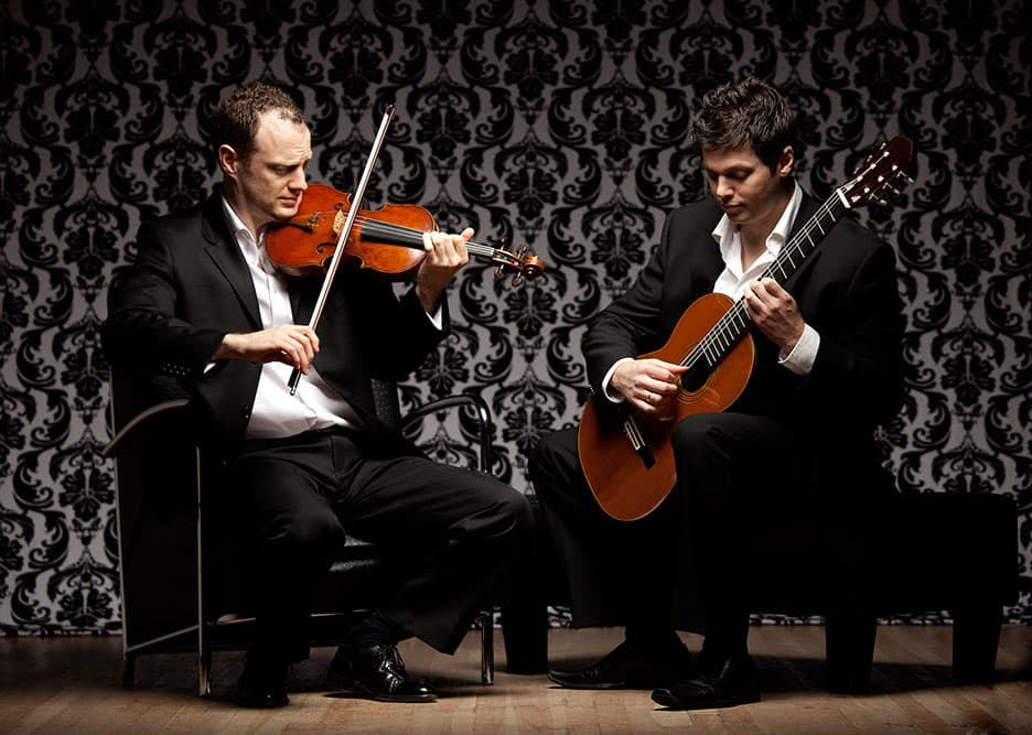 DUO RENDEZVOUS - Jasper Wood, Violin & Daniel Bolshoy, Guitar