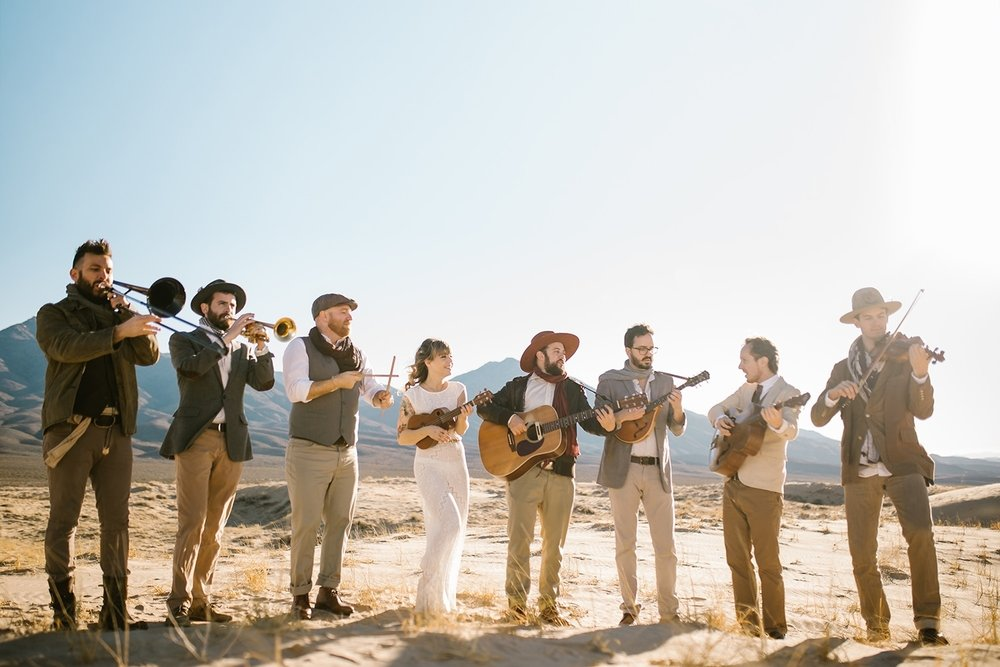 Dustbowl Revival & Hot Club of Cowtown - January 15, 2019 ● 7:30pmA Celebration of The Band - Two of today's defining American roots groups join together for an evening marking the 50th anniversary of The Band's debut album, Music From Big Pink. Drawing on soul, funk, blues and roots, this is a genre-hopping, time-bending concert you won't soon forget!