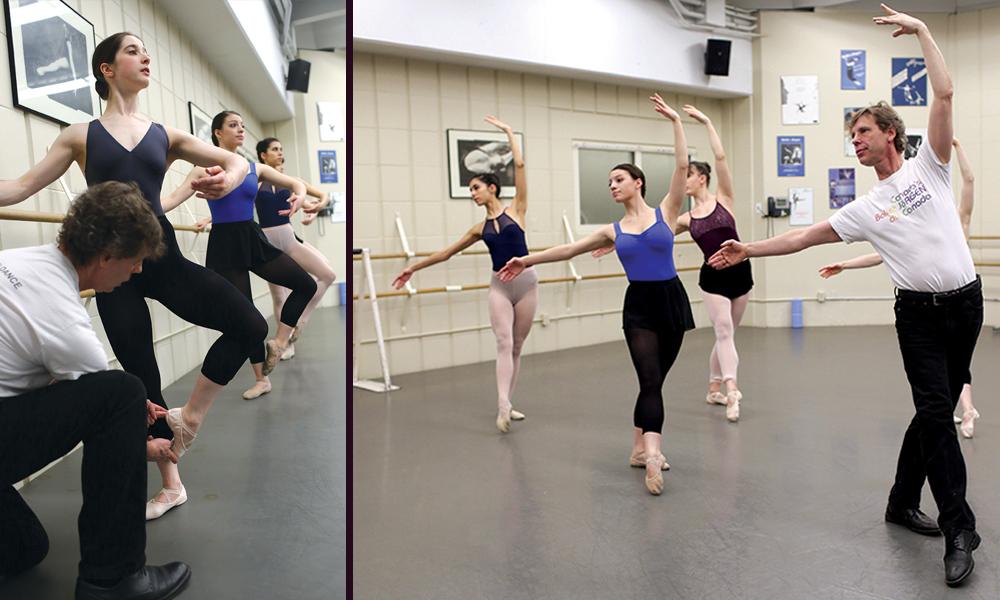 Ballet Master Class with Ballet Jörgen - Ages 11-13