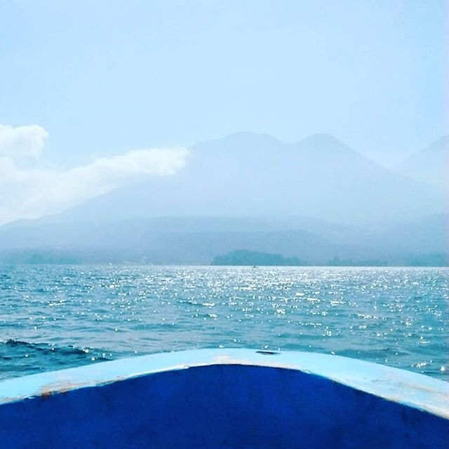 It was so lovely day to meet a family from California and spent a whole day in Santiago Atitlán. Love this adventure!