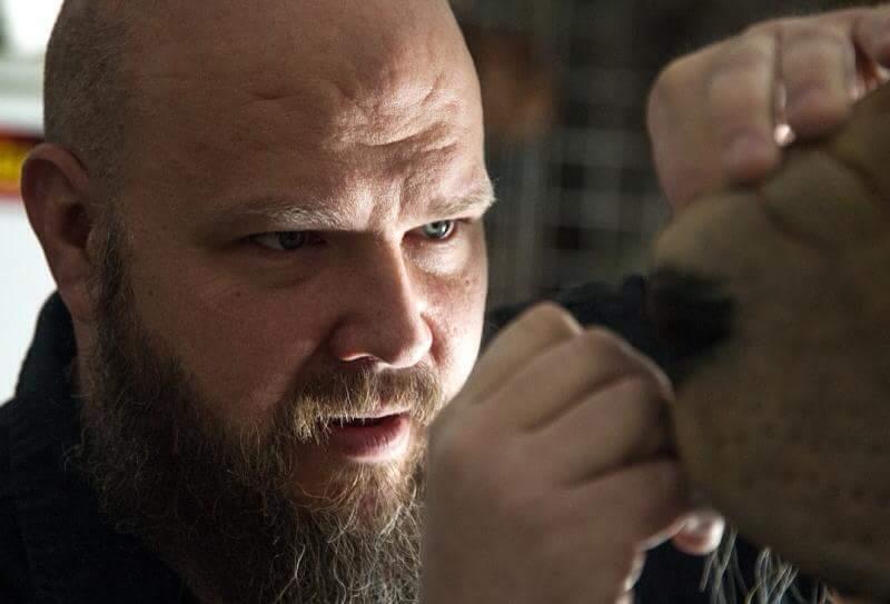 Russ Adams sculpting at Escape Design FX