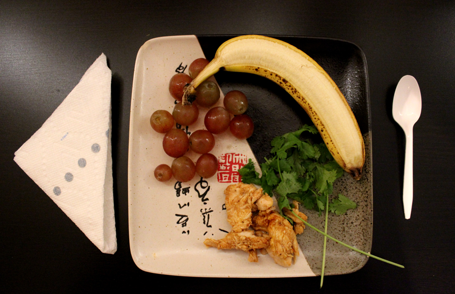 Japanese Fruit Salad and Free Range Mexican BBQ Chicken